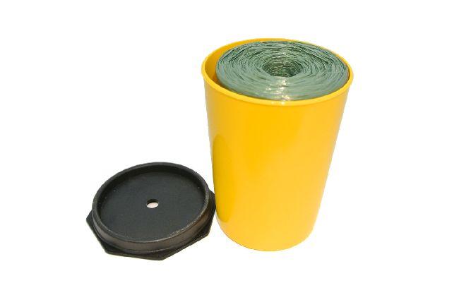 Gärtnerbast GRÜN in Kunststoff-Dose 700m