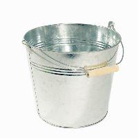 Eimer, Metall ZINK 35-135 Ø21cm H18cm  5 Liter