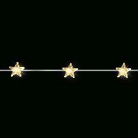 LED Lichterkette 372533  Drahtlichterkette Stern 20 LED 200cm warmweiß