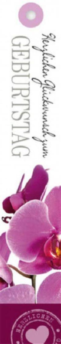 Geschenkkärtchen Herzlichen Glückwunsch z.Gebur Lucida - Klappkarte