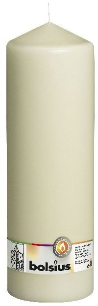 Stumpenkerzen ELFENBEIN 05 H300 Ø100mm