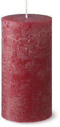 Rustik Kerzen ALTROT 44 ca.54hBrenndauer H130 Ø68mm Flame Stop