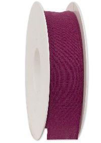 Basicband NATURE beere 601 biologisch abbaubar B:25mm L:20m Baumwollband 267