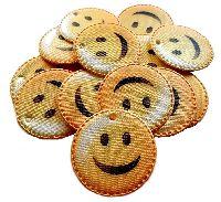 Emoji Streudeko / Anhänger GELB  6640 5cm
