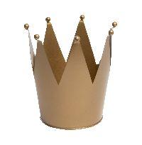 Krone GOLD 38zig02 Ø16cm x 18cm  Zink