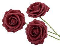 Rose Foam / Schaumrose ROT 11 Ø7cm  80686