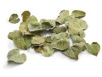 Coracao Blätter NATUR  1738 getrocknet 2,5-4cm